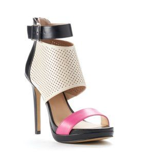 Juicy Couture Nude and Pink Heels